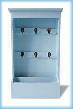 IMC Manufactoria Schlüsselkasten hell-blau Brett