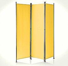 IMC Paravent 3-teilig gelb-orange Raumteiler