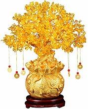 IMIKEYA Geldbaum Glücksbaum Pfennigbaum Feng Shui
