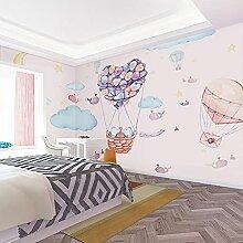 Imitation handgemalte Heißluftballon Himmel