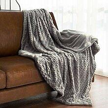 Imitation sheepskin blanket Verdickte