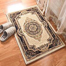 Imitation Wolle Stereo Schnittblumen Matten europäischen Luxus klassischen Bettvorleger Fußmatte Teppich Türmatte
