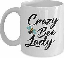 Imker-Becher – Crazy Bee Lady –
