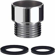 IMLEZON Wasserhahn-Adapter-Set, Messing-Belüfter