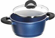 IMPERA Aluguss Bratentopf, 24 cm, Lavender Blue