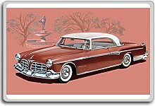 Imperial 1955 Chocolate Newport Vintage Art fridge magnet - Kühlschrankmagne