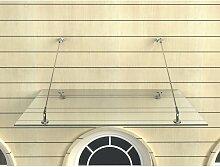 Impex-bad_de - Glas-Vordach 120 x 90 cm