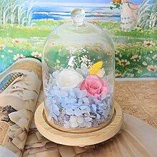 Importiert Live Blume Geschenk-box/Buntes Glas