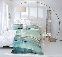 IMPRESSIONEN living Bett - geschnitztes Kopfteil - Antik-Look - Mangoholz - Größe 160 x 200 cm