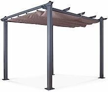 IMS Garden Pavillon/Pergola Aluminium 3 x 3 m