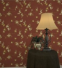 In der modernen Chinesischen Umweltschutz Non-Woven Stoffen Tapete Wohnzimmer Schlafzimmer Wänden Wallpaper 0,53 m * 10 m, ro
