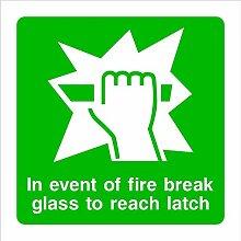 In Event Of Fire Break Glass zu erreichen