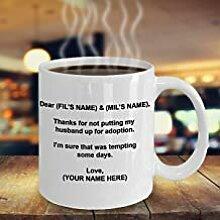 in Law Kaffeetasse, Vater des Bräutigams