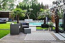 In & Outdoor Teppich Terazza Größe 80 cm X 150 cm