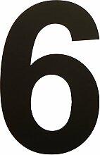in-outdoorshop Hausnummern Zahlen Acrylglas PMMA