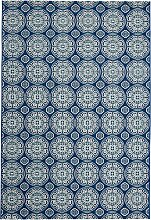 In- und Outdoor Teppich Amy, blau (60/110 cm)
