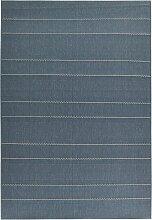 In- und Outdoor Teppich Bayreuth, blau (80/150 cm)