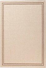 In- und Outdoor Teppich Elba, beige (60/110 cm)