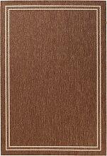In- und Outdoor Teppich Elba, braun (60/110 cm)