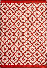 In- und Outdoor Teppich Emelie, orange (60/110 cm)