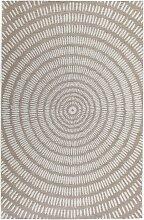 In- und Outdoor Teppich Kathi, braun (60/110 cm)