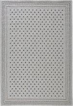 In- und Outdoor Teppich Linda, grau (140/200 cm)