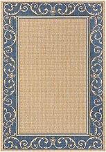 In- und Outdoor Teppich Natascha, blau (80/150 cm)