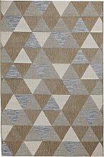 In- und Outdoor Teppich Pattie, braun (120/170 cm)
