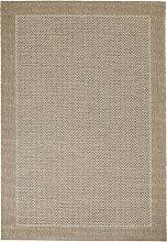 In- und Outdoor Teppich Sarah, beige (60/110 cm)