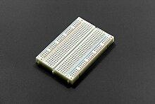 In Ziyun, 400Tie Point Interlocking lötfreie Steckplatine, Maße: 8,2cm * 6,2cm (8,1x 5,1cm), kann verriegelt für größere Projekte, 2Power Lanes