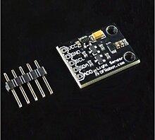 In Ziyun, Lichtsensor–bh1750, Dies ist ein bh1750Lichtintensität Sensor Breakout Board mit einem integriertem 16Bit AD Wandler, die können direkt Output A Digital Signal
