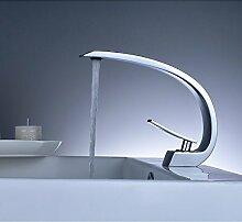 InChant Moderne Deck Montage Ein Loch Einzelsteuerung Waschbecken Wasserhahn mit Chrom-Finish Verbreitet Toilette Armaturen Badewanne Vanity Armaturen