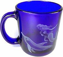 incisoart Hand geätzt Kaffee Tasse sandgestrahlt