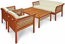 IND-70110-SASE4 Gartenmöbel Set Samoa, Garten