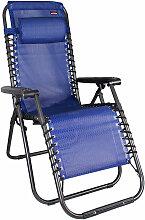 Inda-exclusiv - Relaxsessel schwarz/Blau