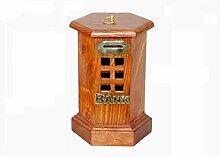 indiacraftsoul Holz Post Office Form Geld Bank