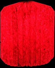 Indian Anhänger handgefertigt dekorative Papierlampenschirm-Deckenleuchte Hänge 30 x 33 cm