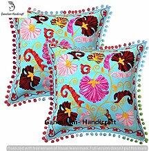 Indian Decorative Handmade Toss Pillow Cover