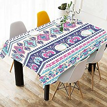 Indian Floral Paisley Muster Design Baumwolle