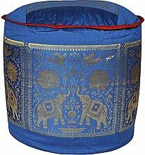 Indian Pouf design Pouf Kissenbezug sitzkissen