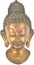 Indianshelf Abbildung von Buddha Messing Wand Statue Dekoration Designer Erklärung Vintage Stück Online Neue