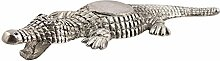 Indianshelf handgefertigte Krokodil aus Aluminium Flaschenöffner Statue Dekoration Designer Erklärung Vintage Stück Online Neue
