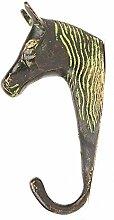 IndianShelf Handmade 2 Stück Vintage Pferdekopf