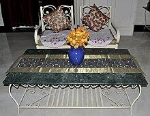 Indien Design Jacquard Seide deko tischläufer