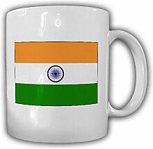 Indien Flagge_Fahne Asien Kaffee Becher #13505