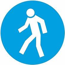 INDIGOS UG - Aufkleber - Für Fußgänger -