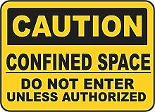 INDIGOS UG - Aufkleber - Sicherheit - Warnung - Do