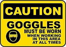 INDIGOS UG - Aufkleber - Sicherheit - Warnung -