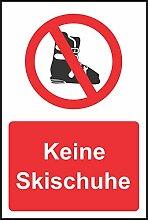 INDIGOS UG - Aufkleber - Sicherheit - Warnung - No