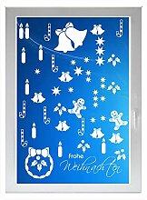 INDIGOS UG - Frohe weihnachten - Farbe: weiss -